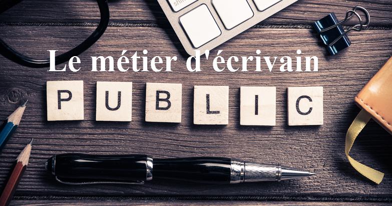 Le métier d'écrivain public