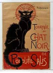 Affiche du Cabaret le Chat Noir